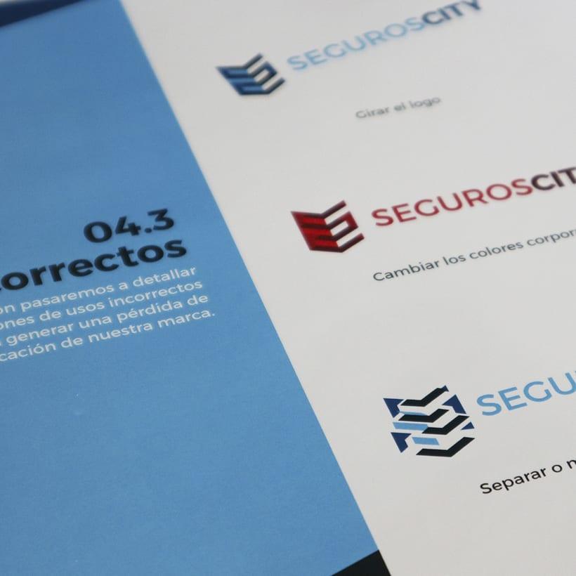 Branding & Website for SegurosCity 3