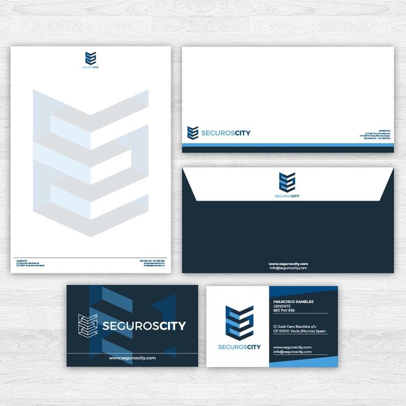 Branding & Website for SegurosCity 4