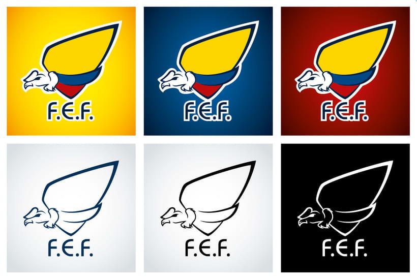 Rediseño escudo F.E.F. 1