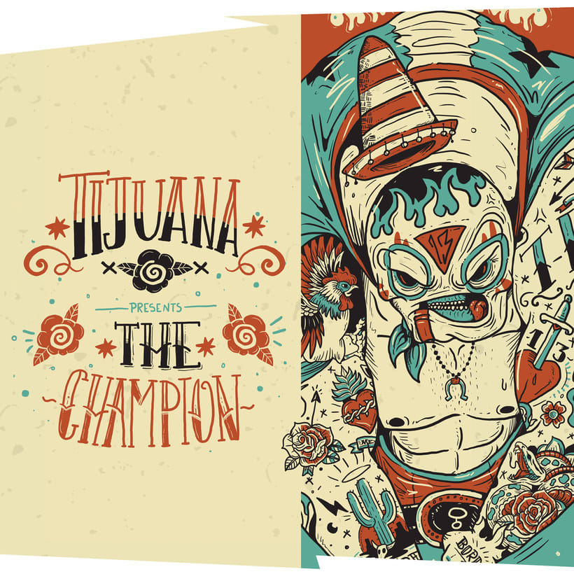 La ilustración callejera de Guacala collective 12