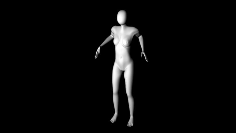 Rigging y Ciclo de caminado- se modelo y se realizo una animación de un ciclo de caminado-(2016) -1