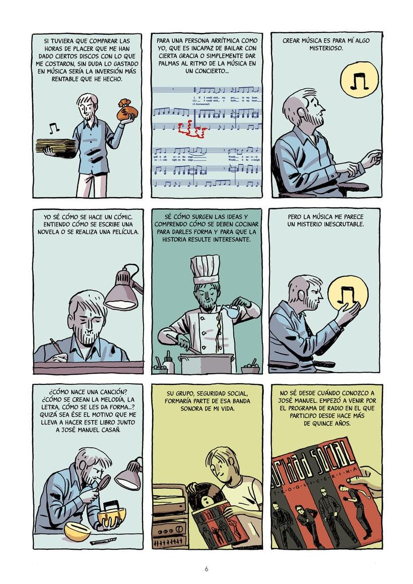 La encrucijada: el cómic-disco de Paco Roca y Seguridad Social 7