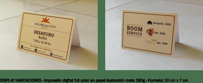 Comunicación Visual en Solares del Alto Hotel  2