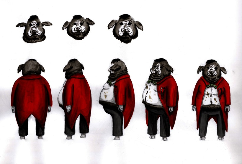 Diseño de personajes 3