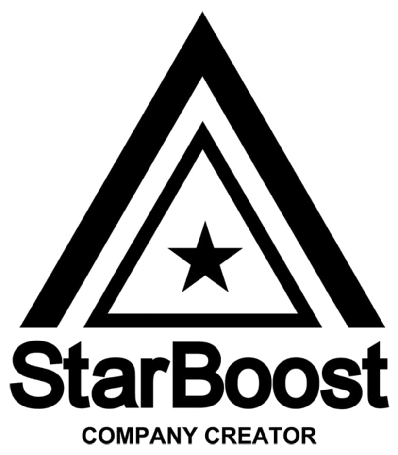 Direction and design for Starboost Company Creator brand identityNuevo proyecto -1