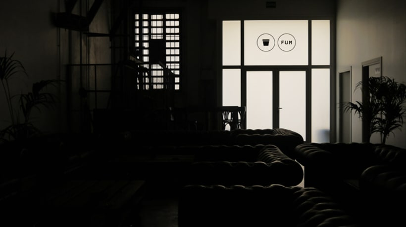 Interior design, art direction and graphic for the Club Fum Bcn 4