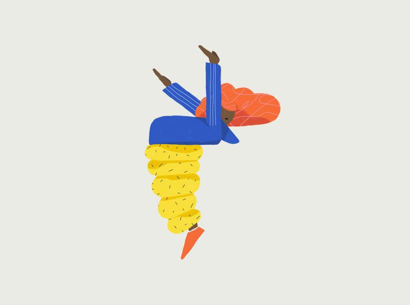 Las ilustraciones perfectamente imperfectas de Sebastian Curi 9