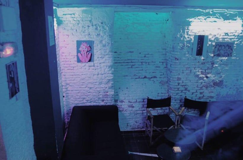 Exposición ilustración digital en Super Pop Bar Nov-Dic 2017 7