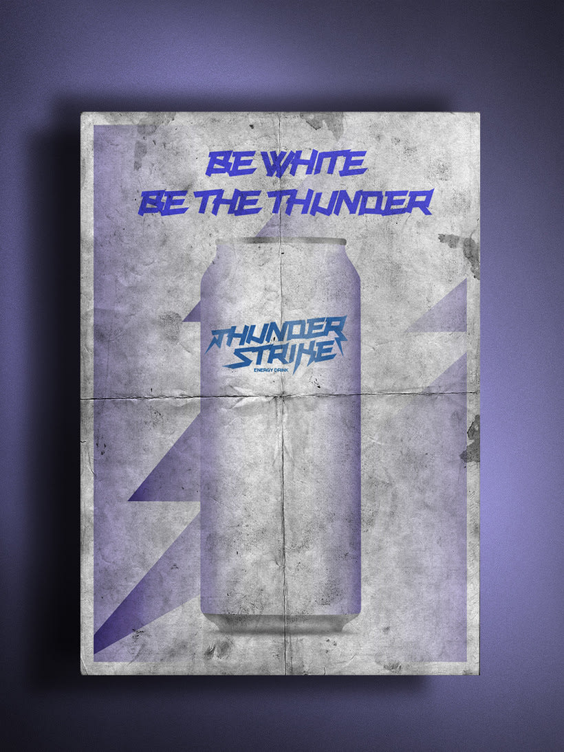 thunder strike energy drink project 1