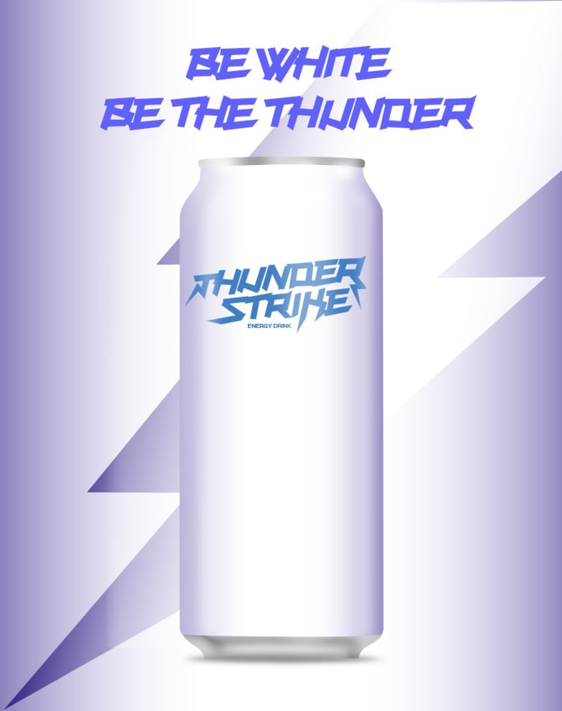 thunder strike energy drink project 2