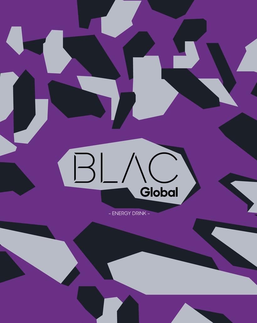 Blac Global Energy drink 0