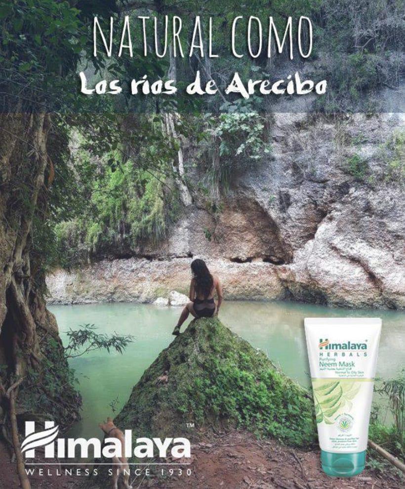 Campaña Publicitaria: Himalaya Herbal Care, Descubre lo Natural que hay en ti 1