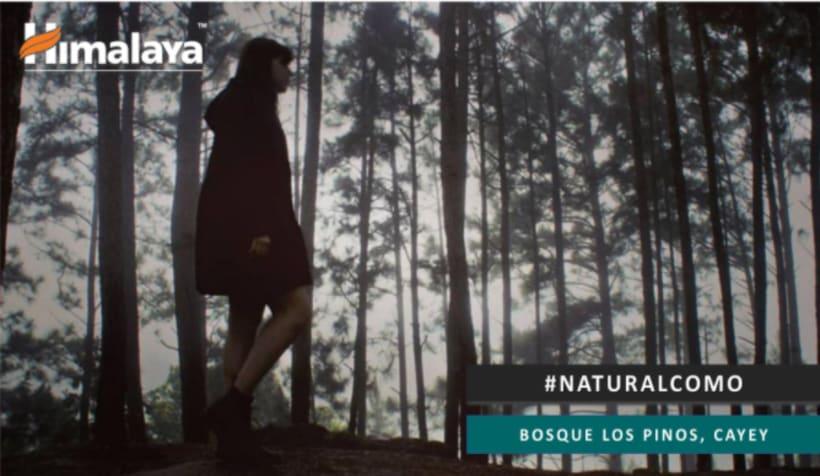 Campaña Publicitaria: Himalaya Herbal Care, Descubre lo Natural que hay en ti 2