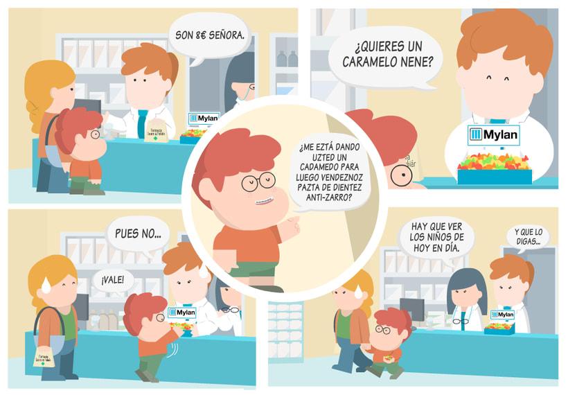 Historias de farmacia y caramelos para todos.  1