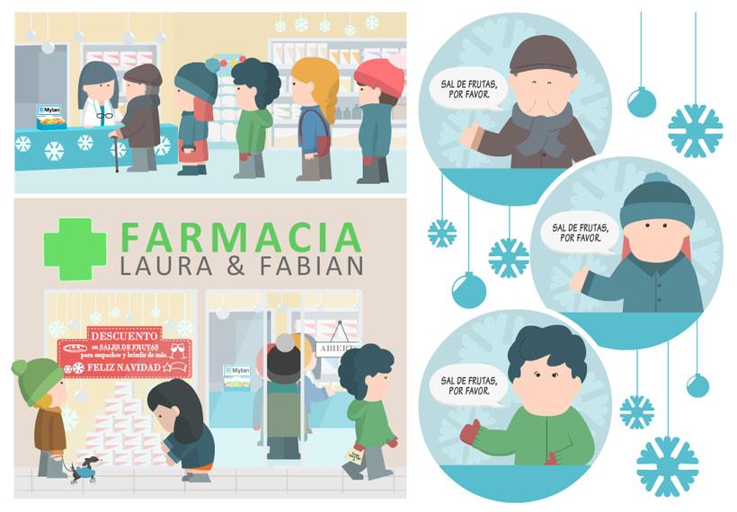 Historias de farmacia y caramelos para todos.  2