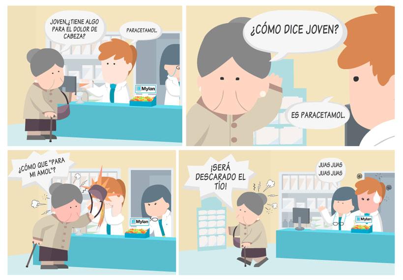 Historias de farmacia y caramelos para todos.  5