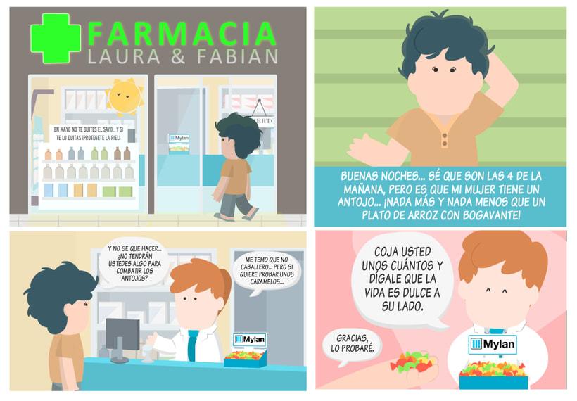 Historias de farmacia y caramelos para todos.  7
