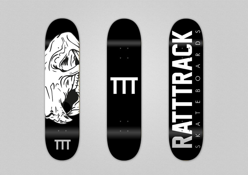 RATTTRACK Skateboards. 3