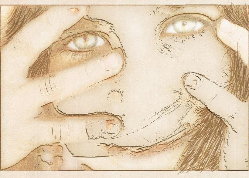 La mirada es la transparencia de uno mismo (personal) 1