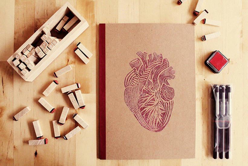 Aprende a crear tus sellos y conviértete en una imprenta humana 7