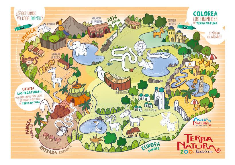 Actividades Terra Natura. Ilustración infantil 8