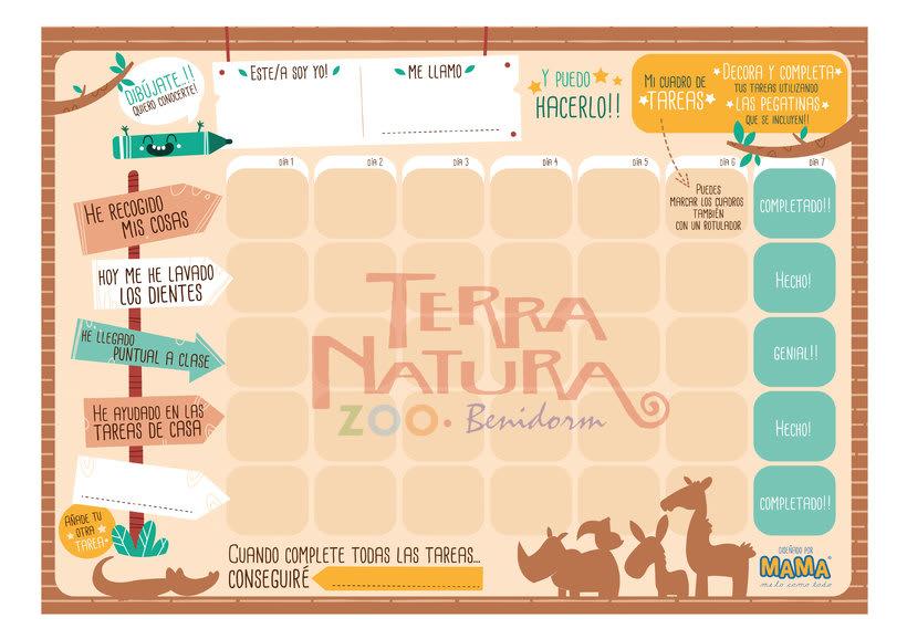 Actividades Terra Natura. Ilustración infantil 9