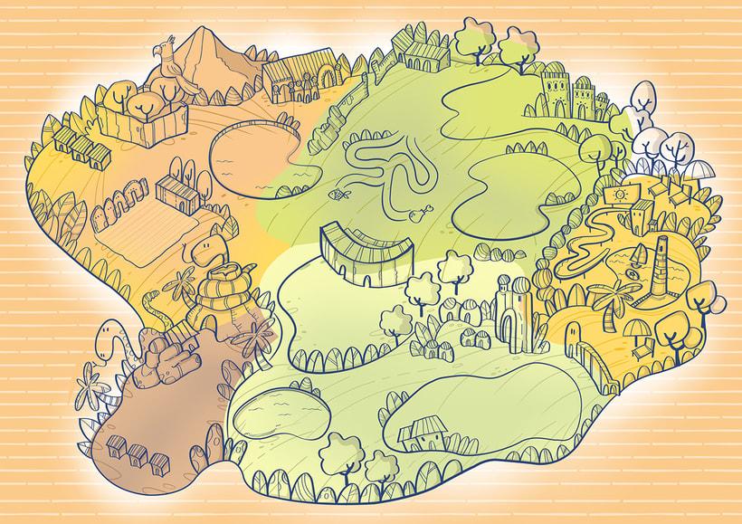 Actividades Terra Natura. Ilustración infantil 5