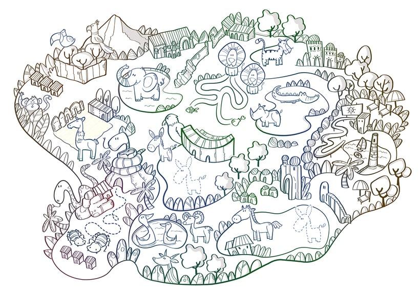 Actividades Terra Natura. Ilustración infantil 4