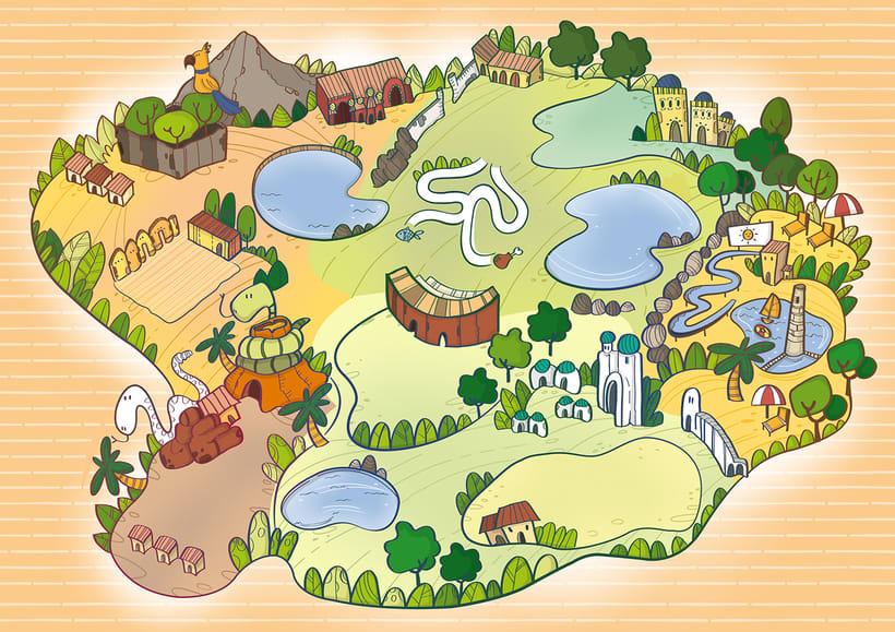 Actividades Terra Natura. Ilustración infantil 6
