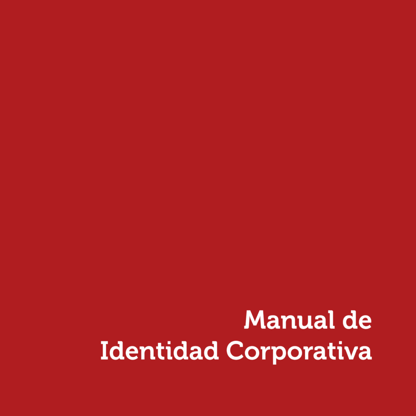 """Manual de Identidad Corporativa """"Pimentón"""" 0"""