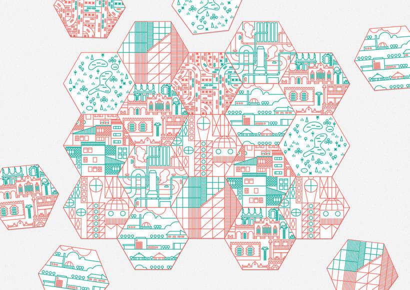 Ilustración y diseño urbanístico para niños 3