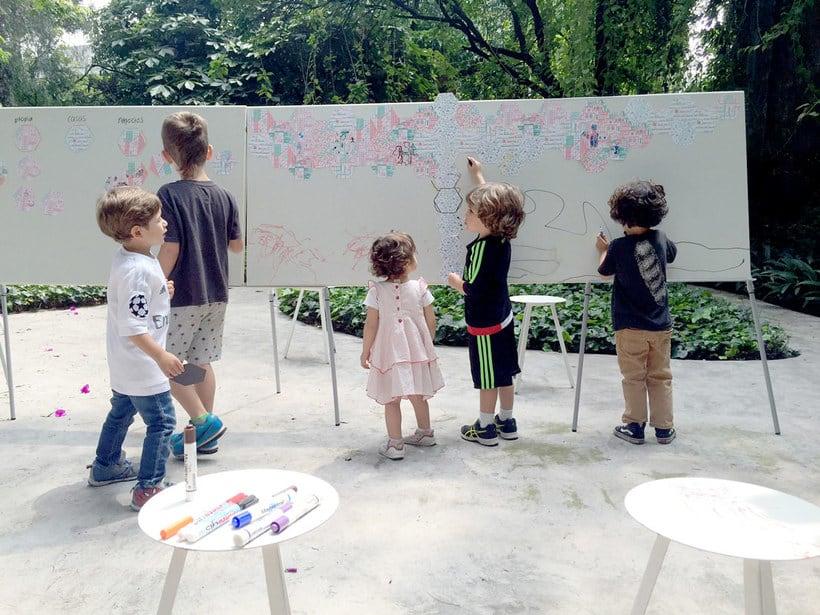 Ilustración y diseño urbanístico para niños 8