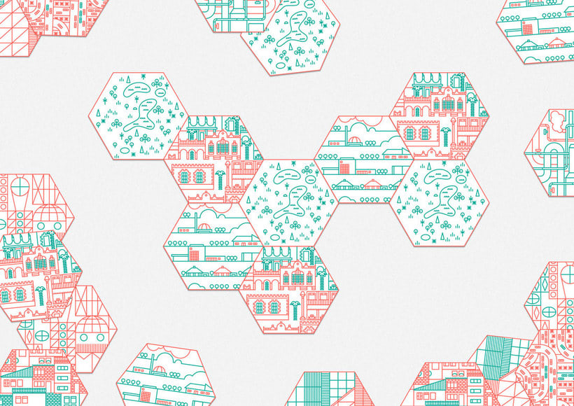 Ilustración y diseño urbanístico para niños 9