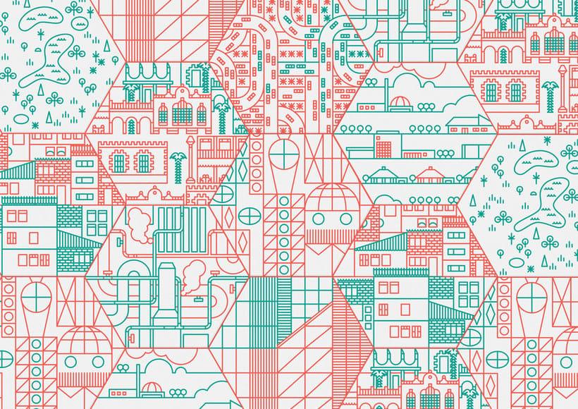 Ilustración y diseño urbanístico para niños 11