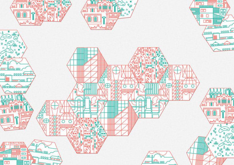 Ilustración y diseño urbanístico para niños 12
