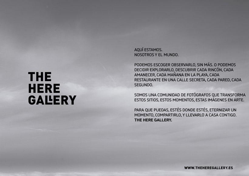 THE HERE GALLERY busca fotógrafos colaboradores 1