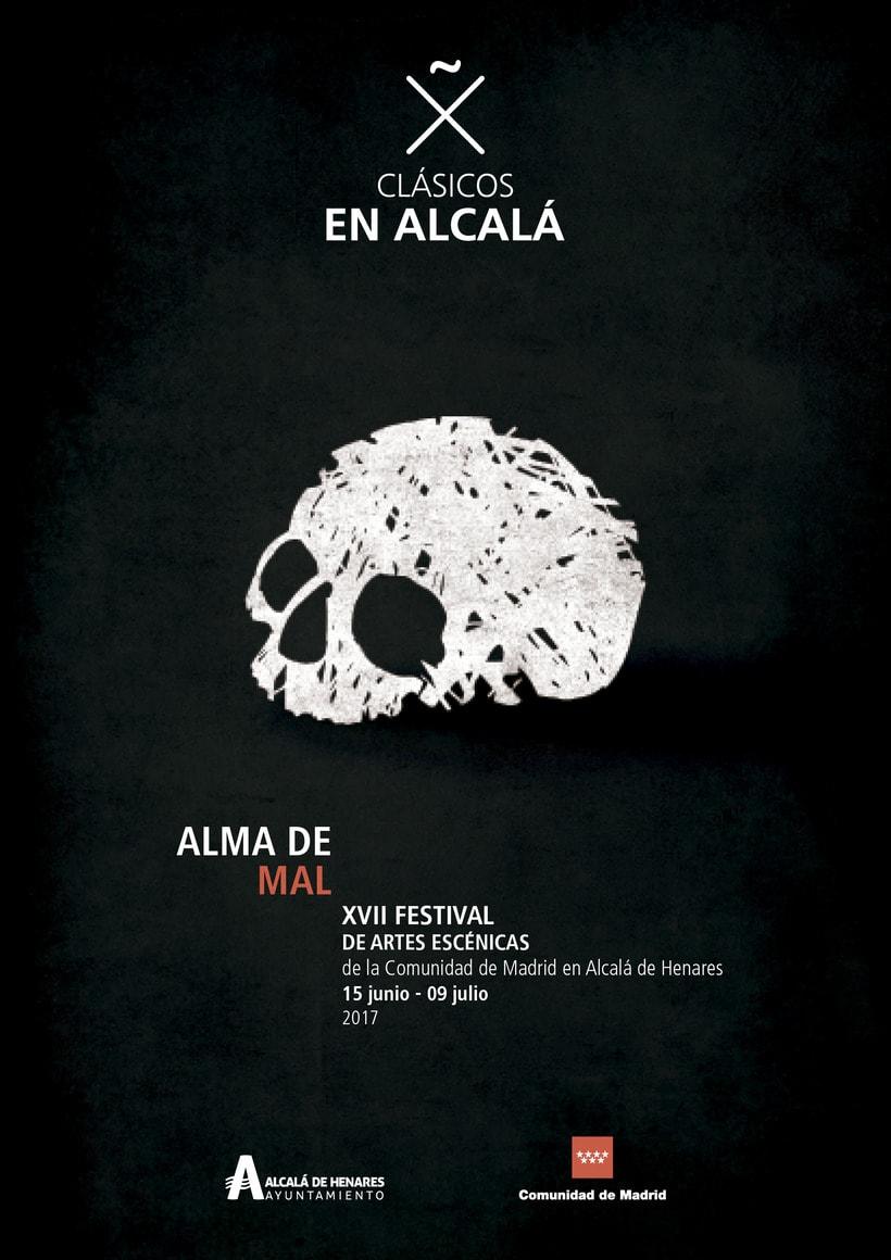 """Propuestas Cartel Festival Teatro Clásico """"Alma de mal"""" 2017 0"""