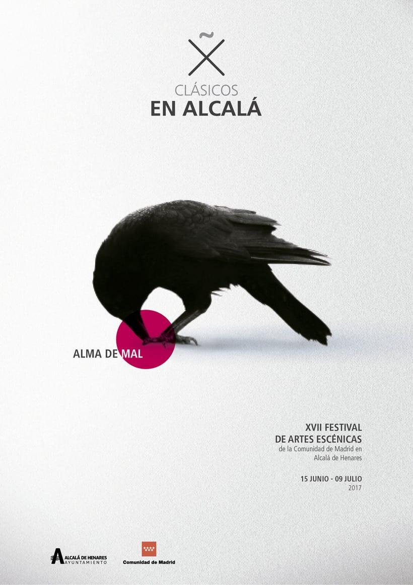 """Propuestas Cartel Festival Teatro Clásico """"Alma de mal"""" 2017 2"""