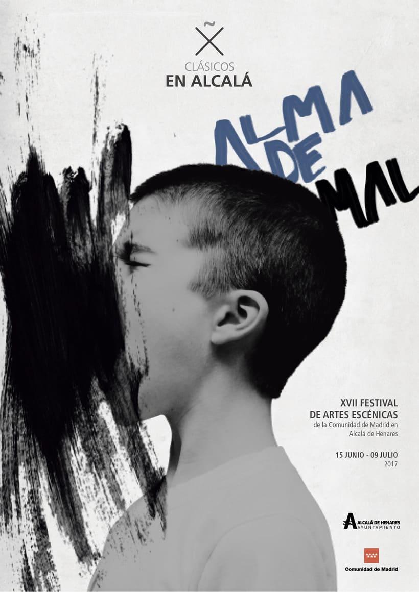 """Propuestas Cartel Festival Teatro Clásico """"Alma de mal"""" 2017 3"""