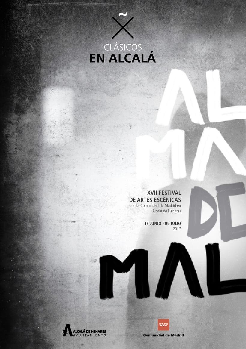 """Propuestas Cartel Festival Teatro Clásico """"Alma de mal"""" 2017 4"""