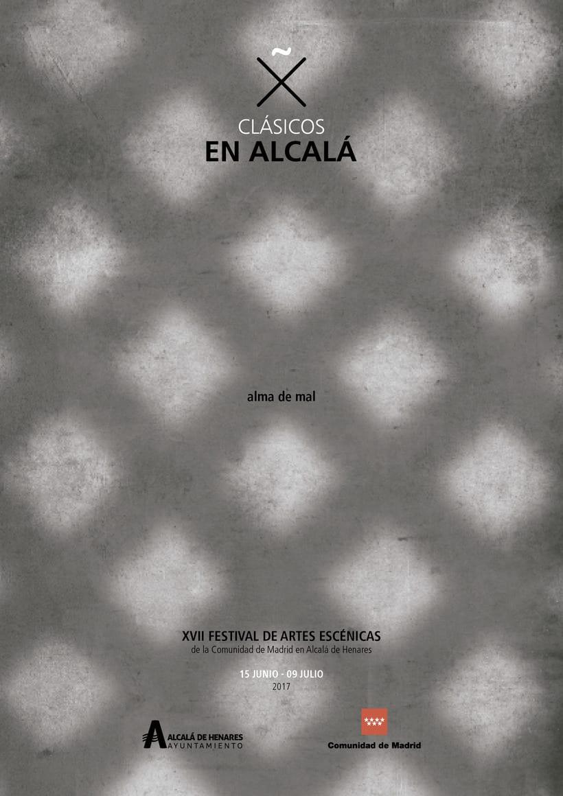 """Propuestas Cartel Festival Teatro Clásico """"Alma de mal"""" 2017 5"""