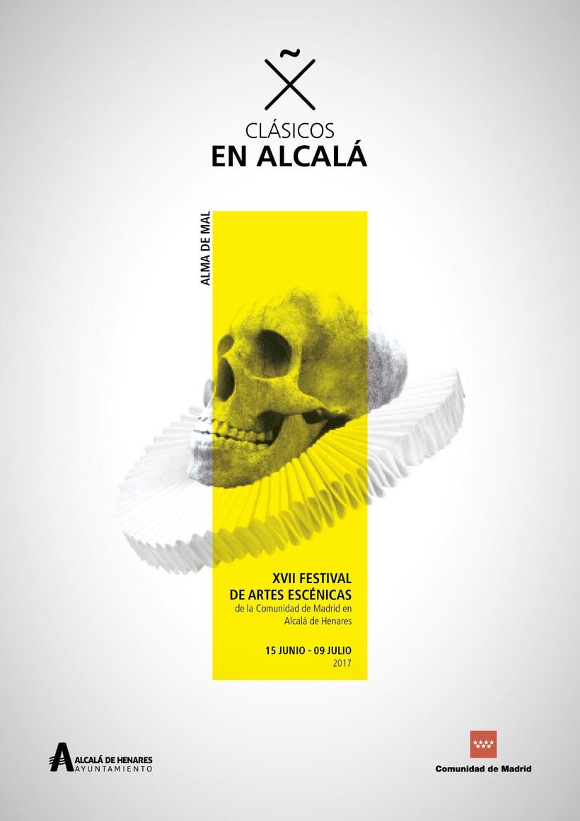 """Propuestas Cartel Festival Teatro Clásico """"Alma de mal"""" 2017 6"""