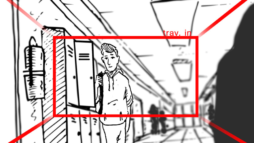 "STORYBOARD ""Por un uso LOVE de la Tecnología""- ORANGE 1"