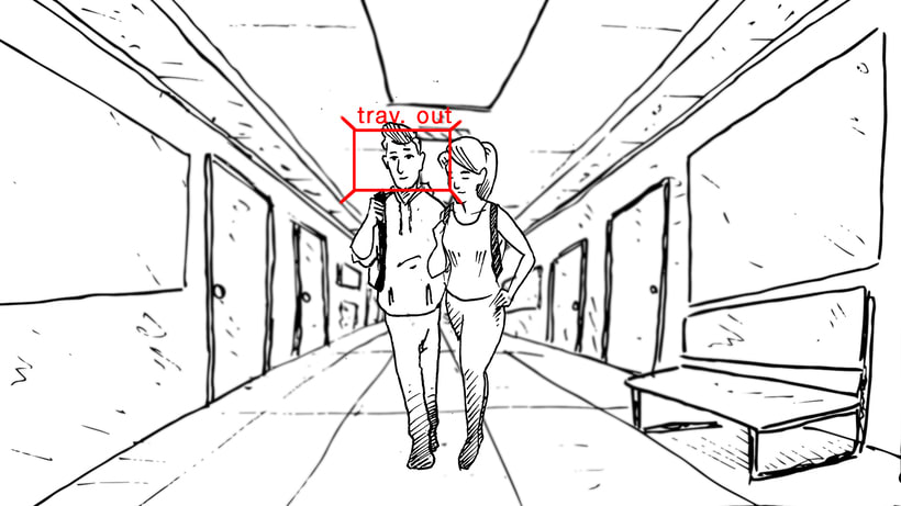"STORYBOARD ""Por un uso LOVE de la Tecnología""- ORANGE 5"