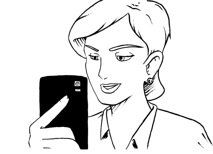 """STORYBOARD """"Por un uso LOVE de la Tecnología 2""""- ORANGE  0"""