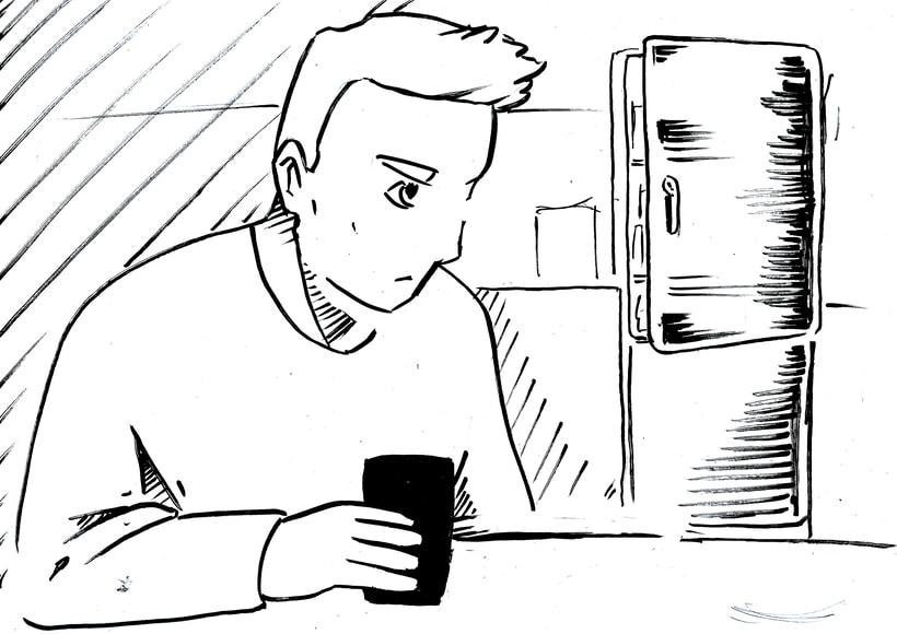 """STORYBOARD """"Por un uso LOVE de la Tecnología 2""""- ORANGE  6"""