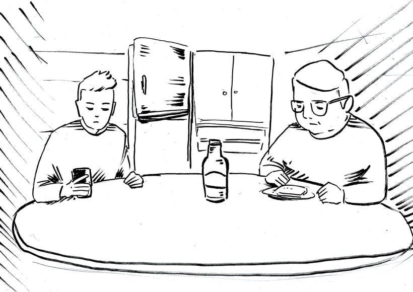 """STORYBOARD """"Por un uso LOVE de la Tecnología 2""""- ORANGE  8"""