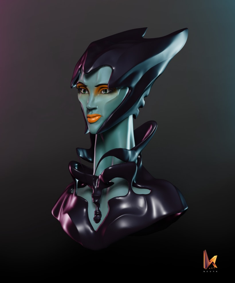 Woman from another Galaxy 0
