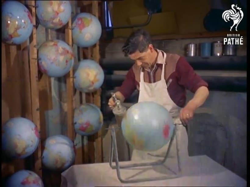 ¿Cómo se hacían los globos terráqueos? 7