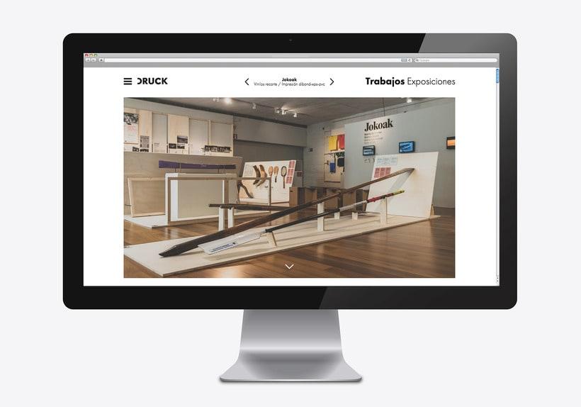 Druck, sitio web 1
